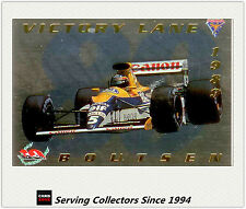1994 Adelaide Grand Prix Trading Cards VICTORY LINE Subset VL5 Thierry Boutsen