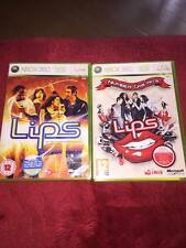 LIPS  number one hits AND LIPS XBOX 360 GAME