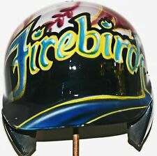 PHOENIX FIREBIRDS RARE CUSTOM PAINTED BASEBALL BATTING HELMET LOGO DESIGN