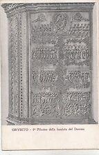 BF33552 orvieto sculpture pilastro della facciata del duom  art front/back image