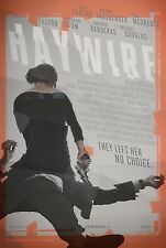 Haywire Original Double-Sided One Sheet Rolled Movie Poster 27x40 NEW 2011