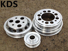 Underdrive pulley kit for 04-08 Mazda RX8 RX-8 1.3L Renesis 13B-MSP 3pcs
