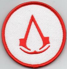 PARCHE   Assassin's Creed  VELCRO RED WHITE  7,5 cms PATCH