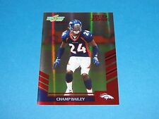 2007 Select CHAMP BAILEY #254 Red Zone SP/30 Denver BRONCOS Georgia BULLDOGS