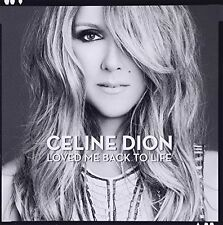 Loved Me Back to Life Celine Dion CD