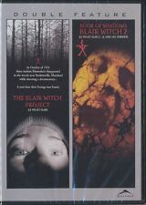 The Blair Witch Project/Blair Witch 2: Book of Shadows (DVD, 2009, Canadian) NEW