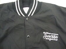 Vintage Walt Disney World SNOW WHITE and the seven dwarfs black Jacket XL
