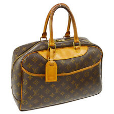 AUTH LOUIS VUITTON DEAUVILLE BUSINESS HAND BAG PURSE MONOGRAM M47270 17216js A