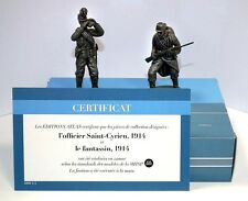 """ATLAS EDITIONS 1:24 - HE11 OFFICER & INFANTRYMAN """"THE GREAT WAR"""" 1914-18"""