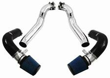 Injen Dual Cold Air Induction Kit Air Intake - 07-09 Late Nissan 350Z HR Silver