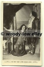 b1883 - Stage Actress - Miriam Lewes & Actor Fred Terry - postcard