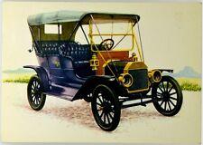 """Cartolina Auto Ford Mod. T """"Lizzie"""" 1908 Viaggiata"""