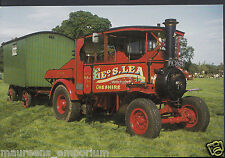 Road Transport Postcard - 1928 Foden D Steam Tractor - Geo.S.Lea, Cheshire RR325