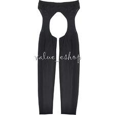 Sexy Open Crotch Men Underwear Sheer Pants Mesh Lingerie Gay Nightwear Clubwear