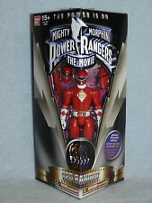 "Mighty Morphin Power Rangers Legacy Movie RED RANGER 5"" action figure bnib"