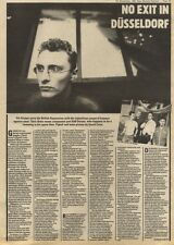 7/11/81PGN29 DIE KRUPPS ARTICLE & PICTURE, NO EXIT IN DUSSLEDORF