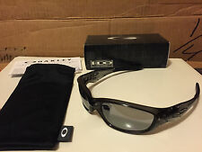 NEW Oakley - Straight Jacket 2.0 (AF) - Grey Smoke / Slate Iridium, 04-327J