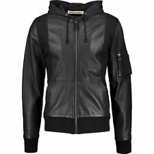 BOLONGARO TREVOR Leather Jacket L Founders of All Saints