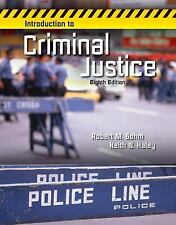 Introduction to Criminal Justice by Robert Bohm and Keith Haley (2013, Hardcover