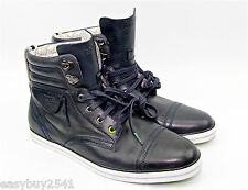 HUGO BOSS GREEN LABEL BARRET LEATHER BOOTS SHOES SNEAKERS NEW SIZE 10 US 43 EU