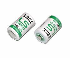 2X SAFT LSG ER14250 1/2AA 3.6V Li-SoCl2 Battery for PLC backup power US