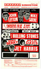 THE ROLLING STONES - HIGH QUALITY VINTAGE CONCERT POSTER - LOOKS AWESOME FRAMED