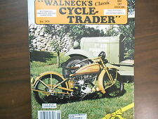 May 1991 Walneck's Classic Cycle-Trader Motorcycle Magazine