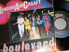 "7"" - London Aircraaft / Boulevard & Soldiers of the Night - MINT 1985 # 0613"