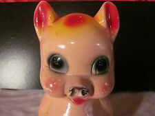 Vintage Plaster Pig Bank From The Palisades Amusement Park in New Jersey 1950's
