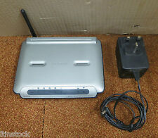 Belkin 4-Port ADSL 2+ Modem With Wireless-G Router F5D7632-4