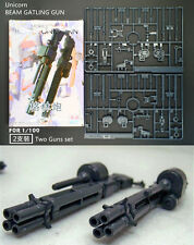 GG/TT BEAM GATLING GUNS for Bandai MG RX-0 Unicorn Gundam