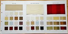 TAFFETA SILK PLAINS AND SELF STRIPES SHADE CARD FOR £6.99