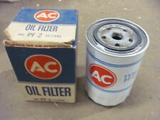 NOS AC PF-2 PF2 Oil Filter WHITE Ford Edsel Chrysler Rambler 5575840