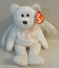 Ty Beanie Baby Halo the Bear 1998 5th Generation Hang Tag