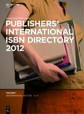Publishers' International Isbn Directory 2012, Directories, Reference, 1. Book,