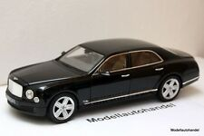 BENTLEY MULSANNE  - BLACK   -  1:18 RASTAR  TOP PREIS