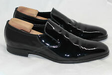 PRADA Patent Leather Slip On Loafer High Shine - Black - Size 12US / 11UK (W95)