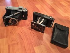 (lot of 2) Kodak vintage Old photo camera KODAK TOURIST and KODAK JIFFY SIX-20