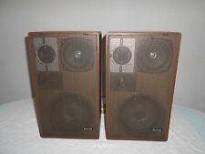 Summit HB 501 Lautsprecher Boxen Hifi-Stereo Lautsprecher Rarität Vintage