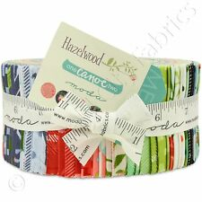"""Moda Hazelwood Jelly Roll Fabric One Canoe Two 40 2.5x44"""" Quilting Quilt Strips"""