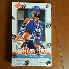 2009-10 Upper Deck O-Pee-Chee Hockey Hobby Box Factory Sealed