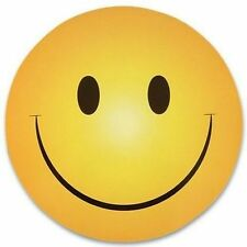 NEW HAPPY/SMILEY  FACE CAR MAGNET -  SMILE !!!! - Cute