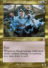 MTG Shadowmage Infiltrator x 1 EX/NM Time Spiral Magic