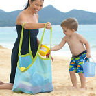 Extra Large Family Mesh Kids Sea Beach Bag Toys Towels Storage Sand Away New