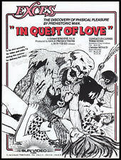 IN QUEST OF LOVE__Original 1982 Cannes Trade Print AD_film promo__GERARD KIKOINE