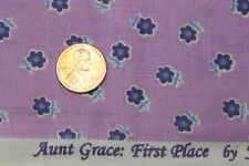 "AUNT GRACE ""FIRST PLACE"" QUILT FABRIC CIRCA 1930's BY THE YARD MARCUS 4489-D335"