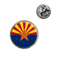 Arizona State Flag Lapel Hat Tie Pin Tack