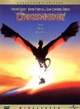 Dragonheart (DVD, 1998, WS Collector's Edition) Dennis Quaid Sean Connery dragon