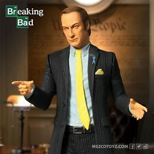 MEZCO TOYZ BREAKING BAD SAUL GOODMAN 6IN ACTION FIGURE FREE SHIP LOOSE