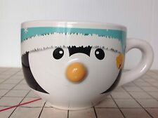 Penguin Mty. Intl.Co.Ltd Ceramic Mug Coffee Cup Snow Cap W/Bell 2D Nose
